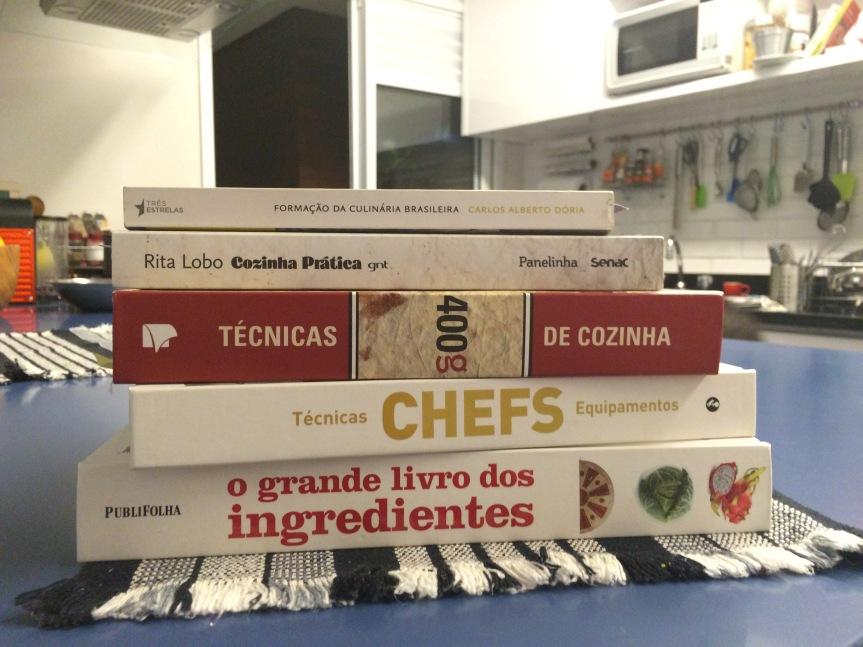 05 livros para começar nacozinha