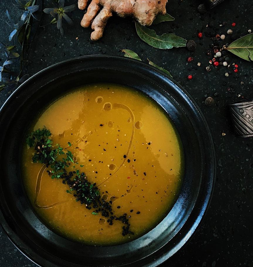 Sopa de abóbora, meuamor