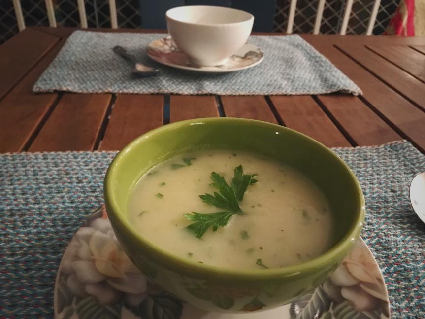 Sopa fria Vichyssoise